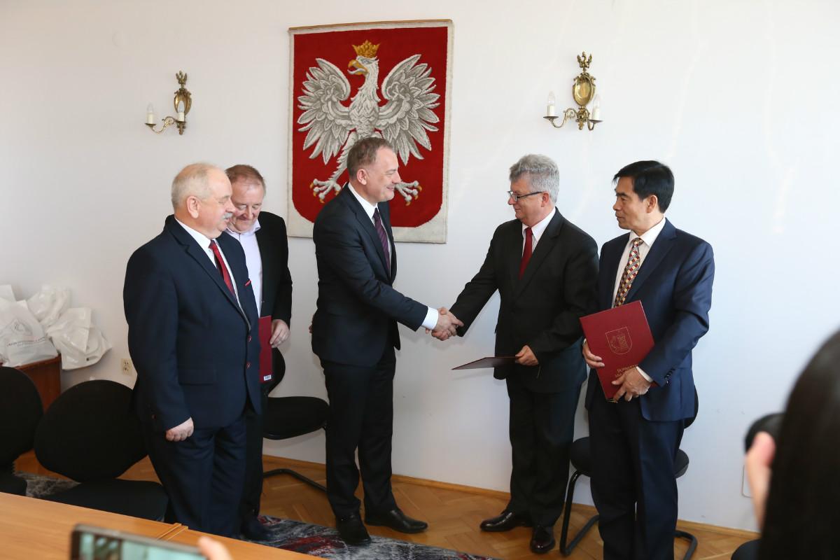 Spotkanie polsko-chińskie w Koniecpolu
