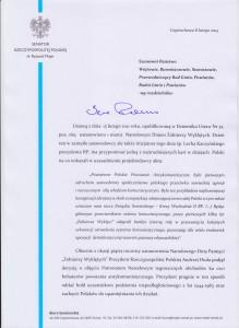 Pismo Senatora RP dr. Ryszarda Majera z dn. 08.02 (1)
