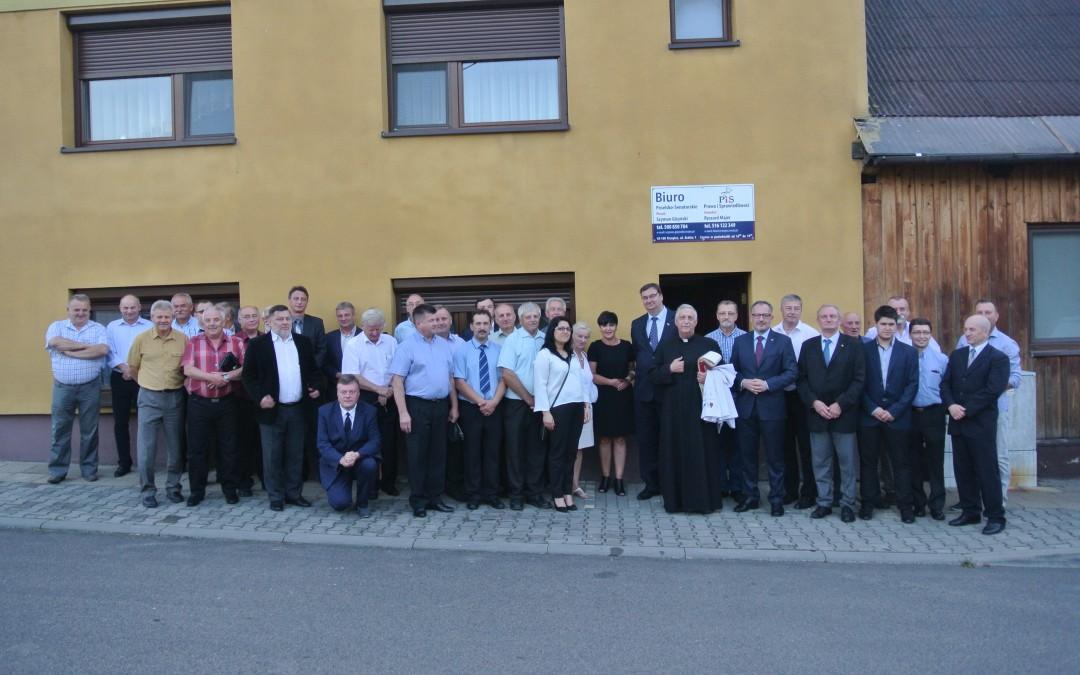 Otwarcie Biura Poselsko – Senatorskiego PiS w Krzepicach