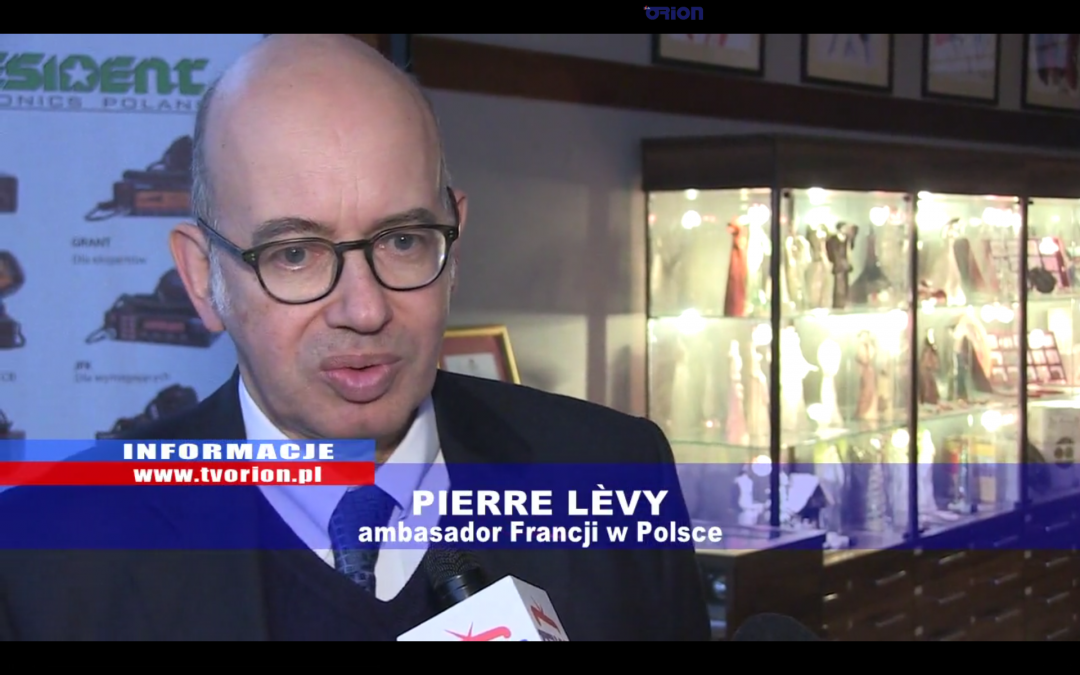 Ambasador Francji Pierre Levy w Częstochowie