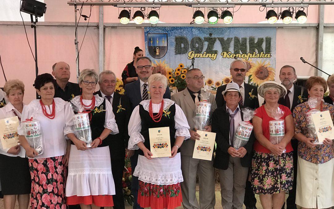 Dożynki w gminie Konopiska