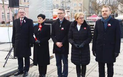 Obchody Święta Niepodległości w Częstochowie, Blachowni oraz Kamienicy Polskiej