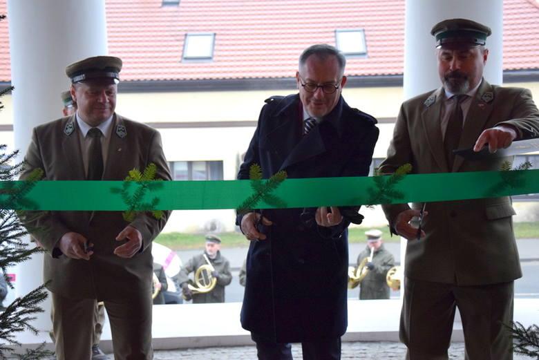 Uroczyste otwarcie siedziby Nadleśnictwa Koszęcin