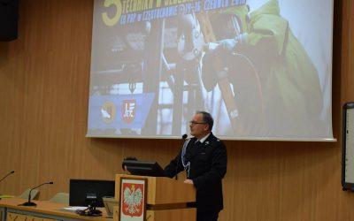 """5 Międzynarodowa Konferencja ,,Inżynieria bezpieczeństwa a zagrożenia cywilizacyjne technika w służbie bezpieczeństwa"""" w CS PSP w Częstochowie"""