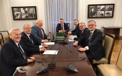 Posiedzenie senackiego Zespołu dla Śląskia