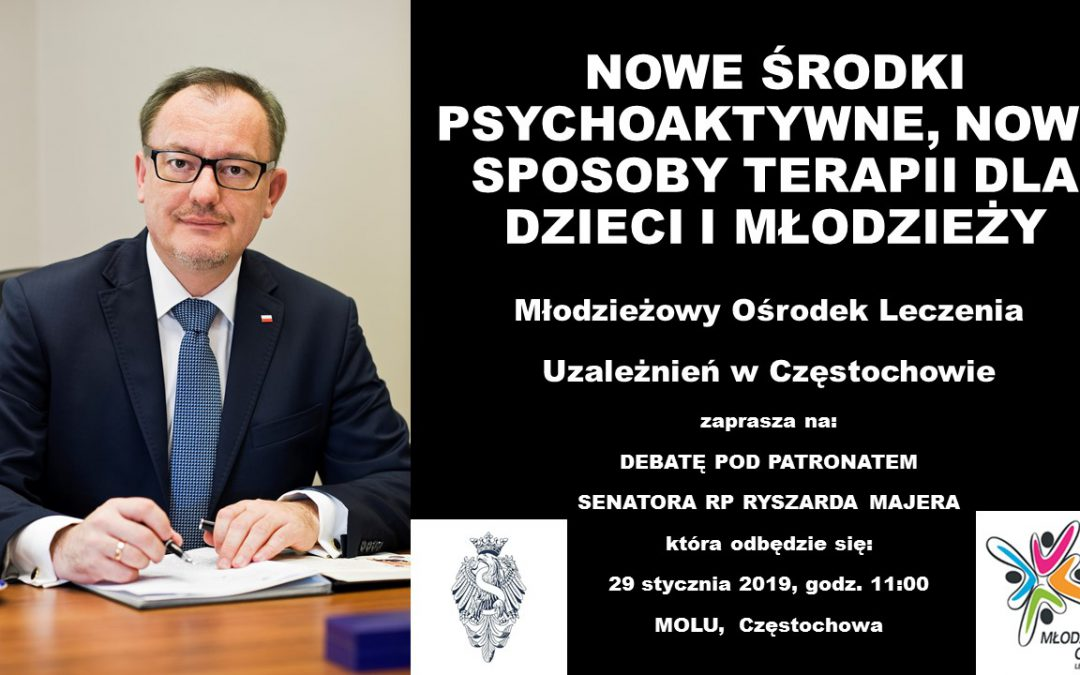 Debata pod patronatem Senatora RP Ryszarda Majera